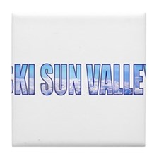 Ski Sun Valley Tile Coaster
