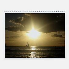 Hawaiian Sunset Calendar