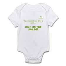 Yep, my mom can drive a semi. Infant Bodysuit
