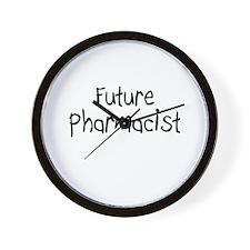 Future Pharmacist Wall Clock
