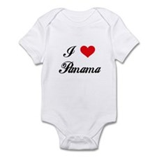 I Love Panama Infant Bodysuit