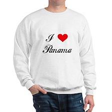 I Love Panama Sweatshirt