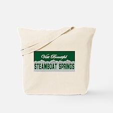 Visit Beautiful Steamboat Spr Tote Bag