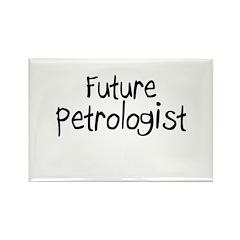 Future Petrologist Rectangle Magnet