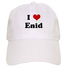 I Love Enid Baseball Cap