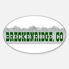Breckenridge, Colorado Oval Decal