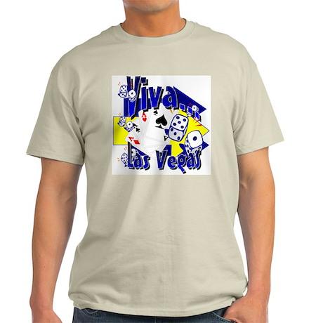 Viva Las Vegas Ash Grey T-Shirt