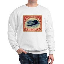 Cute Stamped Sweatshirt