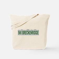 Ski Breckenridge Tote Bag