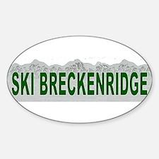 Ski Breckenridge Oval Decal