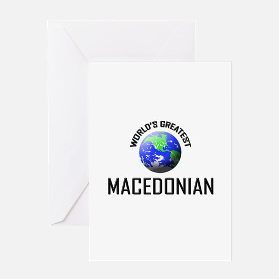 World's Greatest MACEDONIAN Greeting Card