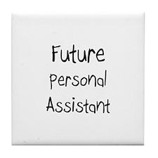 Future Personal Assistant Tile Coaster