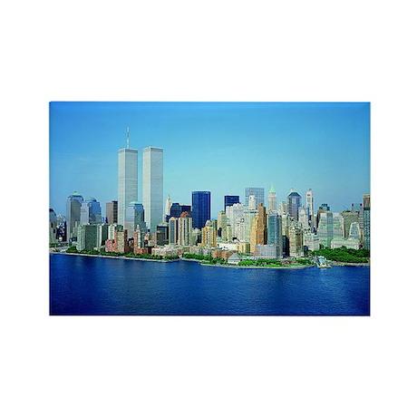 New York City Skyline Rectangle Magnet (100 pack)