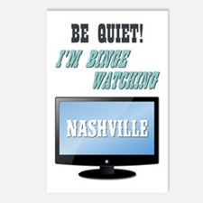 BE QUIET! (NASHVILLE) Postcards (Package of 8)