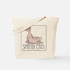 Sphynx Cat Poses Tote Bag
