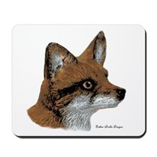 Fox Profile Design Mousepad