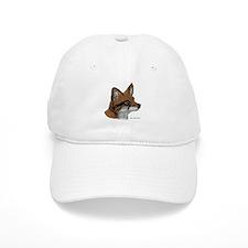 Fox Profile Design Baseball Cap