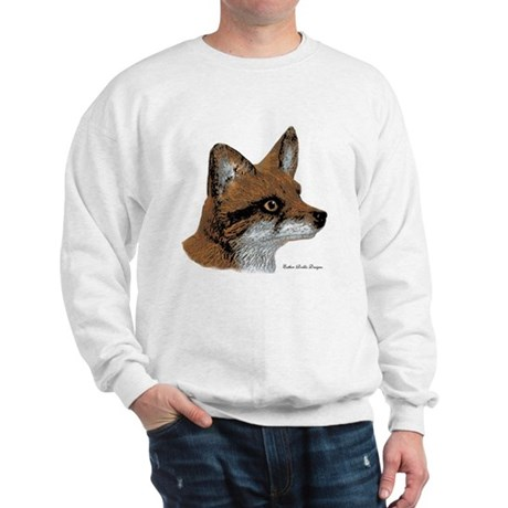 Fox Profile Design Sweatshirt