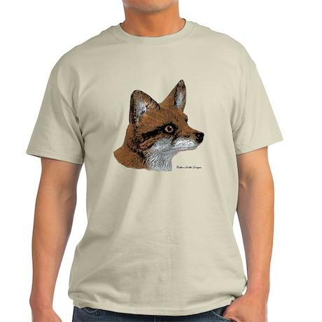 Fox Profile Design Light T-Shirt