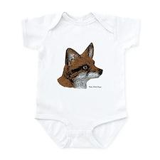 Fox Profile Design Infant Bodysuit