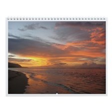 Hawaiian Views Wall Calendar