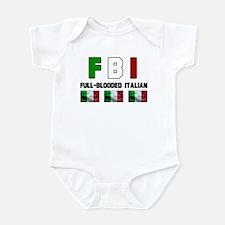 Full-Blooded Italian Infant Bodysuit