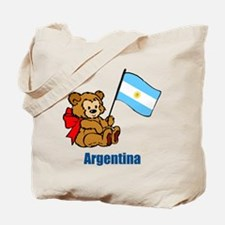 Argentina Teddy Bear Tote Bag