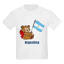 Argentina Teddy Bear T-Shirt