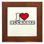 I Heart Huckabee Framed Tile