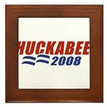 Huckabee 2008 Framed Tile