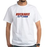 Huckabee 2008 White T-Shirt