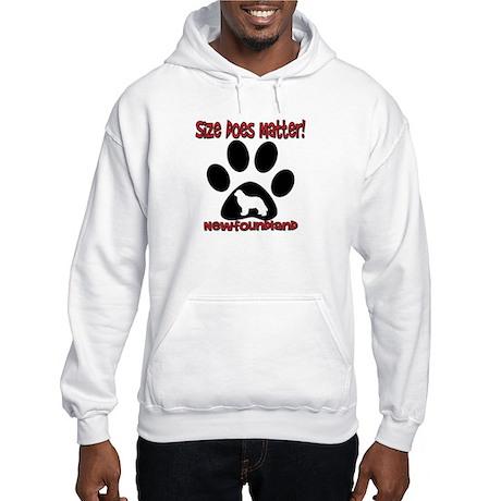 Size Matters! Hooded Sweatshirt