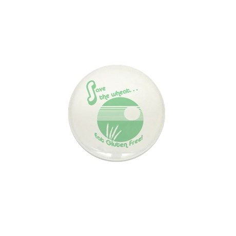 Save the Wheat Mini Button (10 pack)
