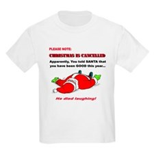 Christmas is Cancelled T-Shirt