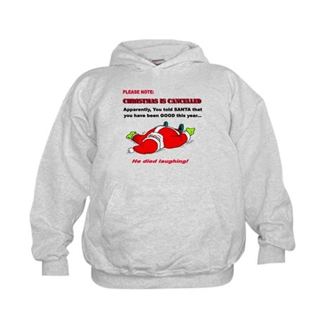 Christmas is Cancelled Kids Hoodie
