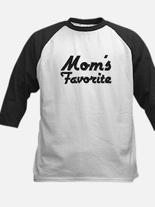Mom's Favorite Kids Baseball Jersey