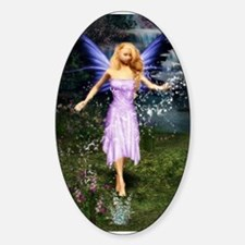 Faerie Among the Falls Oval Decal