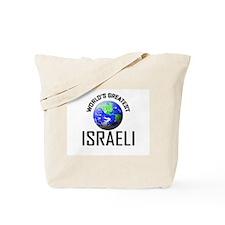 World's Greatest ISRAELI Tote Bag