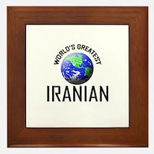 World's Greatest IRANIAN Framed Tile