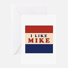 I Like Mike 2008 Greeting Card