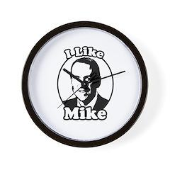 I Like Mike Wall Clock
