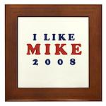 I Like Mike Framed Tile