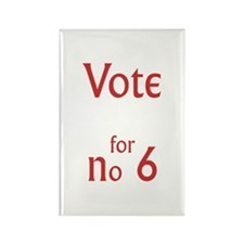 Vote for no.6 Rectangle Magnet