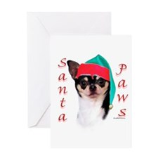 Chihuahua Paws Greeting Card