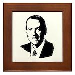 Mike Huckabee face Framed Tile