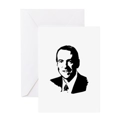 Mike Huckabee face Greeting Card