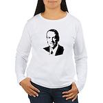 Mike Huckabee face Women's Long Sleeve T-Shirt