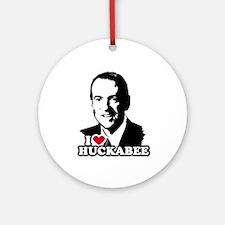 I heart Huckabee Ornament (Round)