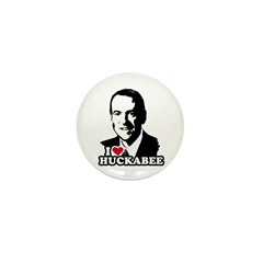 I heart Huckabee Mini Button (100 pack)
