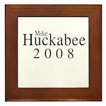 Mike Huckabee 2008 Framed Tile